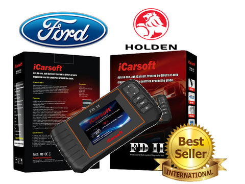 New iCARSOFT FDII FORD HOLDEN OBD2 DIAGNOSTIC FAULT CODE SCAN SERVICE RESET TOOL