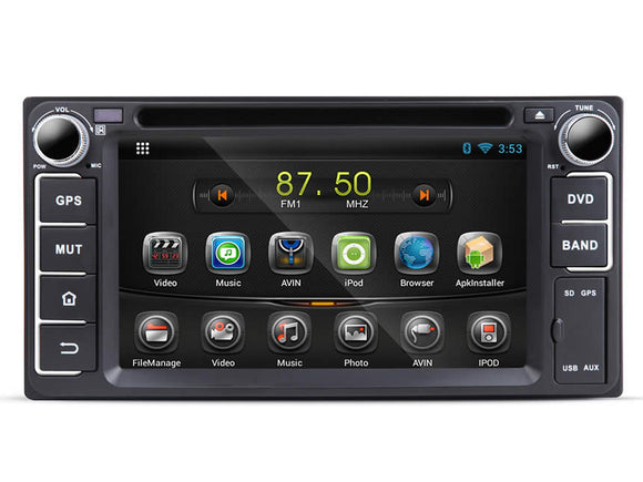 TOYOTA COROLLA 7″ DIGITAL TOUCH SCREEN ANDROID IOS MULTIMEDIA CAR DVD GPS