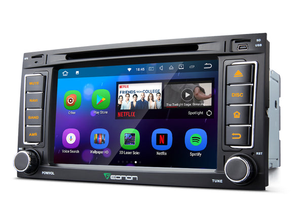 VOLKSWAGEN VW TOUAREG TRANSPORTER 7″ DIGITAL TOUCH SCREEN ANDROID IOS MULTIMEDIA CAR DVD GPS