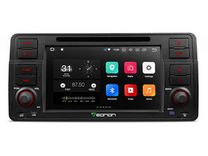 BMW E46 3-SERIES M3 7″ DIGITAL TOUCH SCREEN ANDROID IOS MULTIMEDIA CAR DVD GPS
