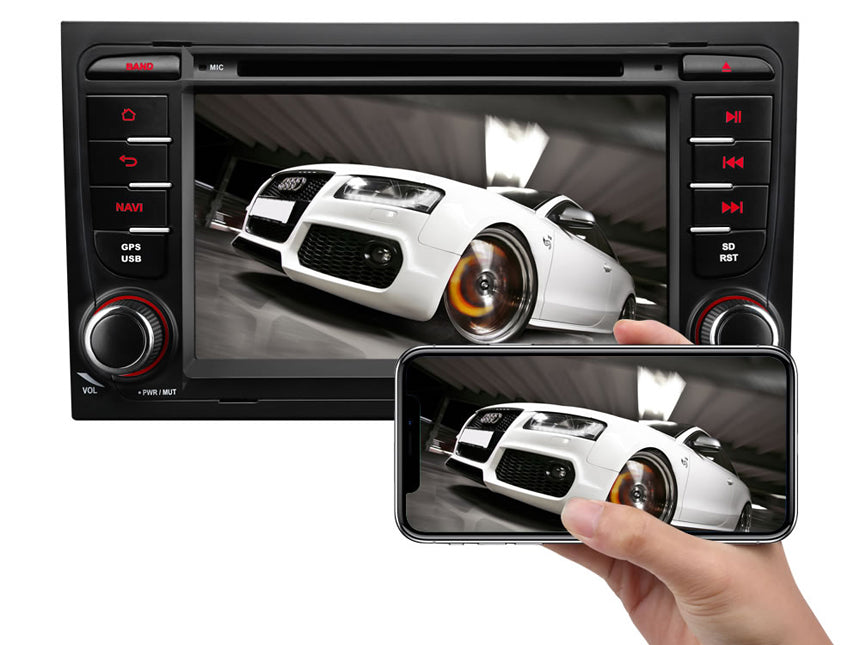 Designed for A4/S4/RS4/Seat Exeo Android 8 0 Oreo 4G RAM
