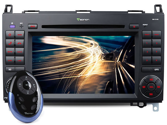 MERCEDES BENZ A B VITO VIANO SPRINTER 7″ DIGITAL TOUCH SCREEN ANDROID IOS MULTIMEDIA CAR DVD GPS