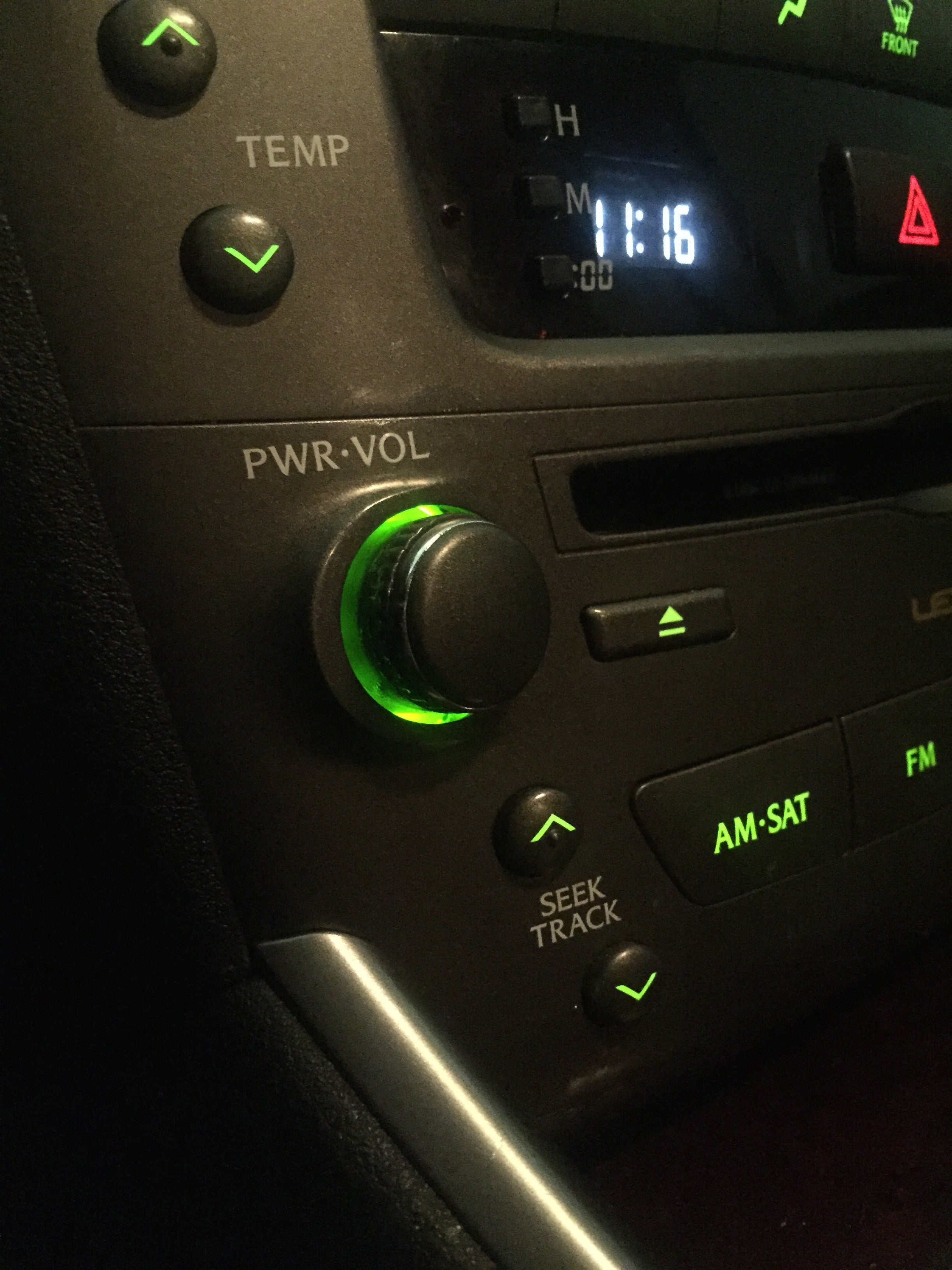 New CHROME BUTTON TIP for LEXUS IS250 IS350 iSF NAVIGATION