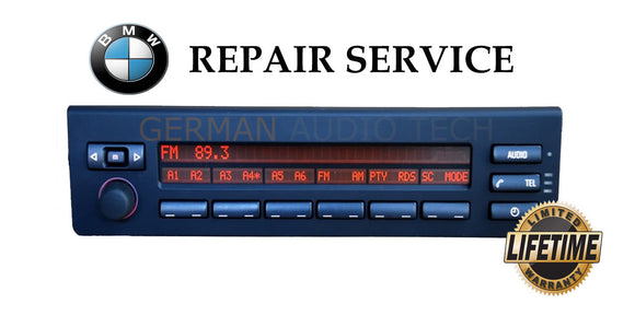 REPAIR SERVICE for BMW MULTI INFORMATION RADIO STEREO DISPLAY MID E39 530 540 E53 X5
