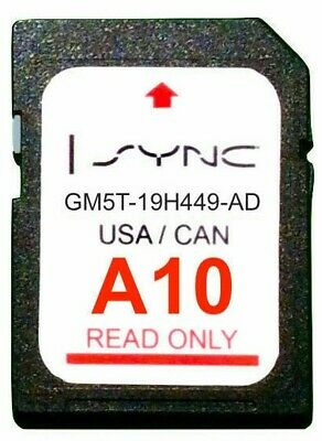 Latest A10/B10 Navigation SD Card for FORD US Canada Mexico 2019 Update GM5T-19H449-BD