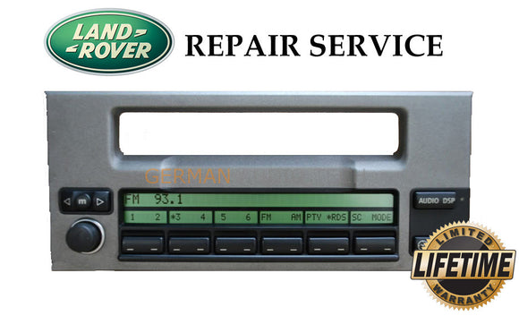 PIXEL REPAIR SERVICE for 2002-2005 RANGE ROVER HSE L322 RADIO INFORMATION DISPLAY MID