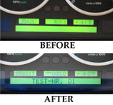 PIXEL REPAIR SERVICE for RANGE ROVER HSE SUPERCHARGED L322 INSTRUMENT SPEEDOMETER CLUSTER