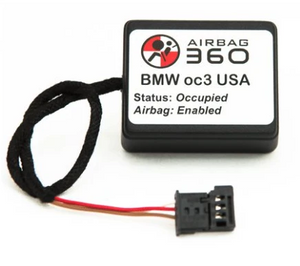 Seat Mat Occupancy Sensor Emulator Bypass for BMW E90 E91 E92 E93 3-Series Passenger Airbag (93C3)