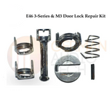 1999-2006 BMW E46 3-SERIES L/R DOOR LOCK CYLINDER + BARREL REPAIR KIT 323 325 328 330 M3
