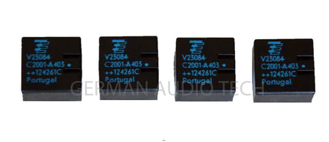 (4) TYCO TE V23084-C2001-A303 GENERAL MODULE GM3 GM4 GM5 RELAYS BMW VW MERCEDES