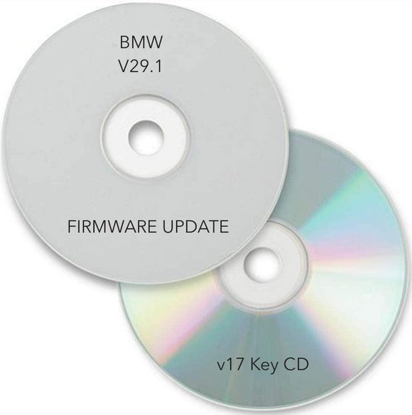 V29.1 SOFTWARE UPDATE DISC KEY CD for BMW MK3 MK2 NAVIGATION COMPUTER E38 E39 E53 X5