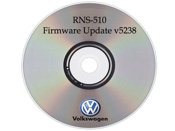 Firmware Update v15 V5238 / V4366 for Volkswagen VW Skoda RNS510 Navigation Radio
