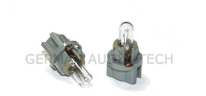 4x VOLVO LIGHT BULBS GRAY TOSHIBA V-2 DASH INSTRUMENT DIM CLIMATE CONTROL V S XC