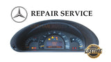 REPAIR SERVICE for 2001-2004 MERCEDES BENZ W203 C230 C240 C320 C32 AMG INSTRUMENT SPEEDOMETER CLUSTER