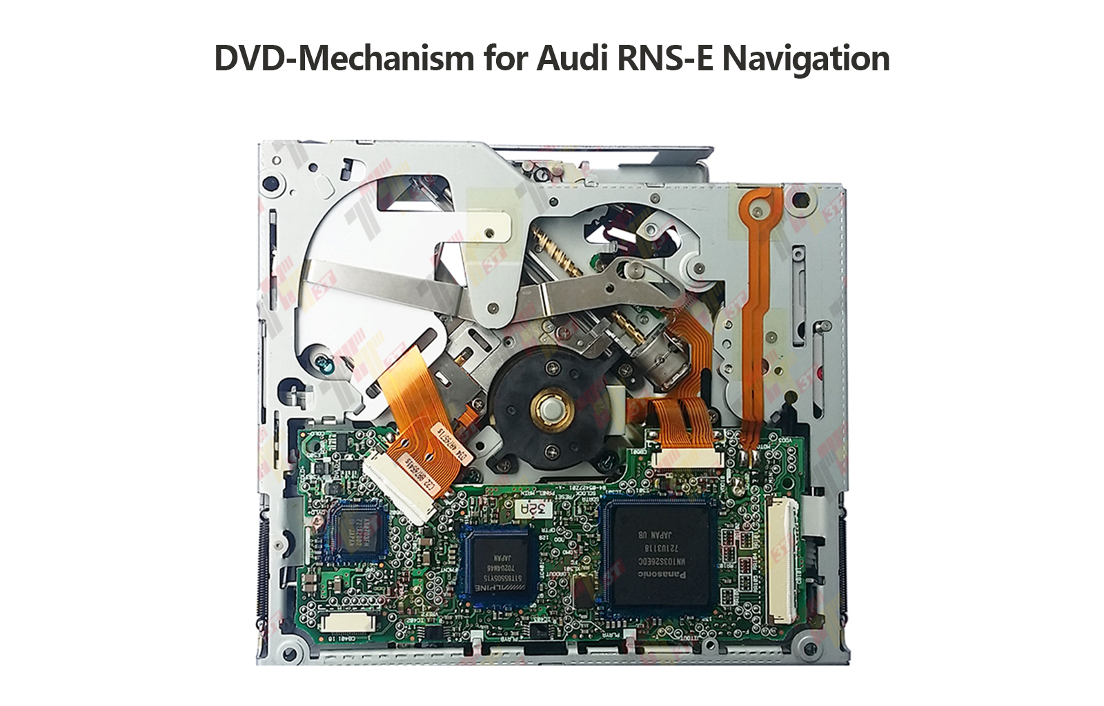 CD DVD Loader Assembly Mechanism For AUDI RNSE Navigation Plus - Audi rns e