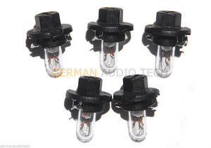 5x DASH INSTRUMENT CLUSTER LIGHT BULBS 12V 1.2W 2002 2003 2004 2005 RANGE ROVER L322