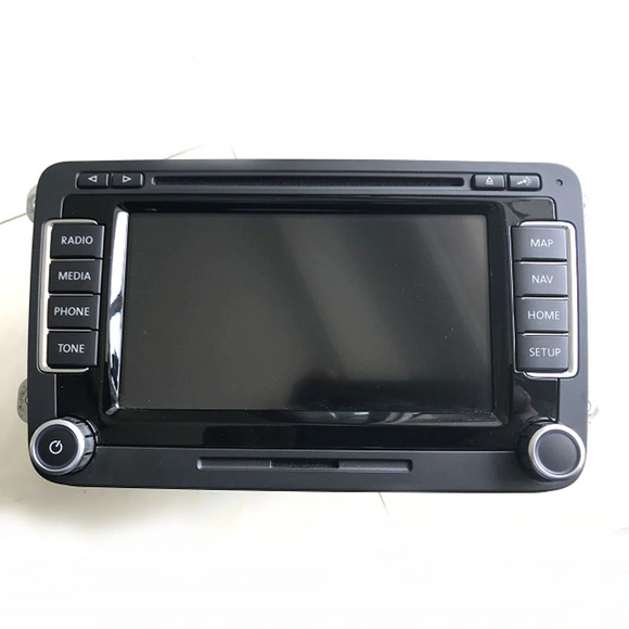 OEM VOLKSWAGEN VW RNS510 NAVIGATION SYSTEM RADIO HEAD UNIT MONITOR 3C0035684/C/D