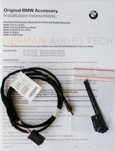 BMW E83 X3 CD PLAYER RADIO MP3 AUX AUXILIARY INPUT ADAPTER KIT IPOD IPHONE