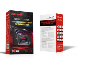 iCarsoft VOL V2.0 Diagnostic Scanner Tool for Volvo/Saab