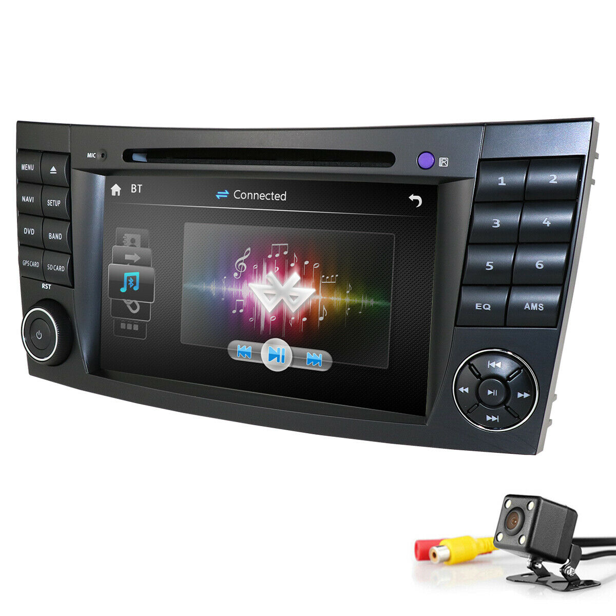 Android Multimedia Navigation Radio For Mercedes Benz E