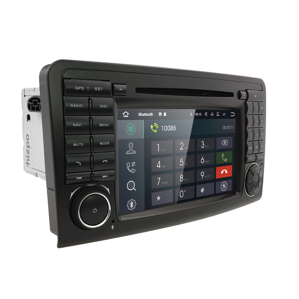 Android Upgrade for Mercedes ML350 ML550 GL350 GL500 W164