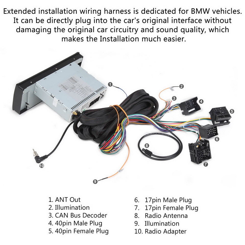bmw x5 wiring harness extension cable for bmw e46 3 series e39 5 series e53 x5 with  bmw e46 3 series e39 5 series e53 x5