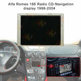 Alfa Romeo 166 Radio CD-Navigation display 1998-2004