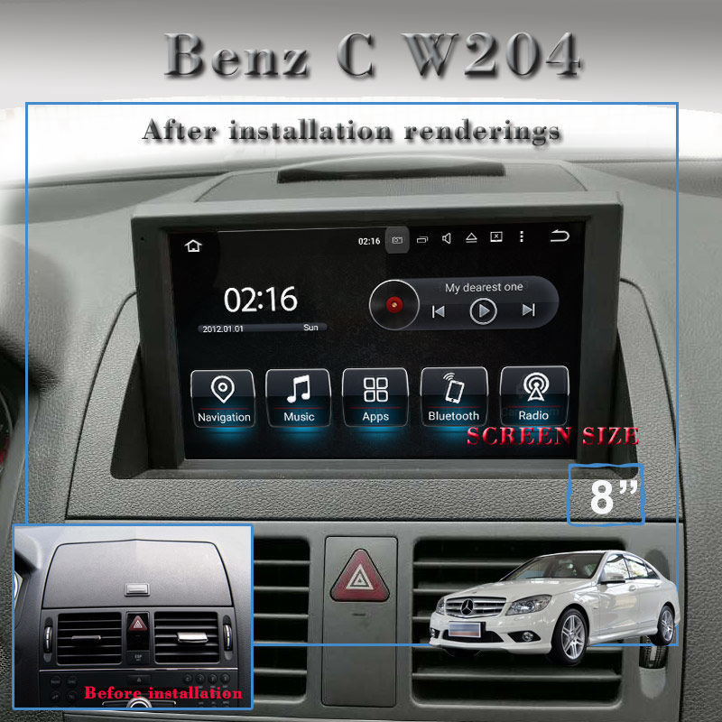 android upgrade for mercedes benz c class w204 2007 2011 navigation ra german audio tech