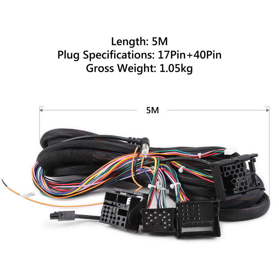 extension cable for bmw e46 3-series e39 5-series e53 x5 with aftermar –  german audio tech  german audio tech