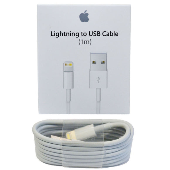 Original Apple iPhone X 6 7 8 PLUS USB Lightning Charger Cable Authentic