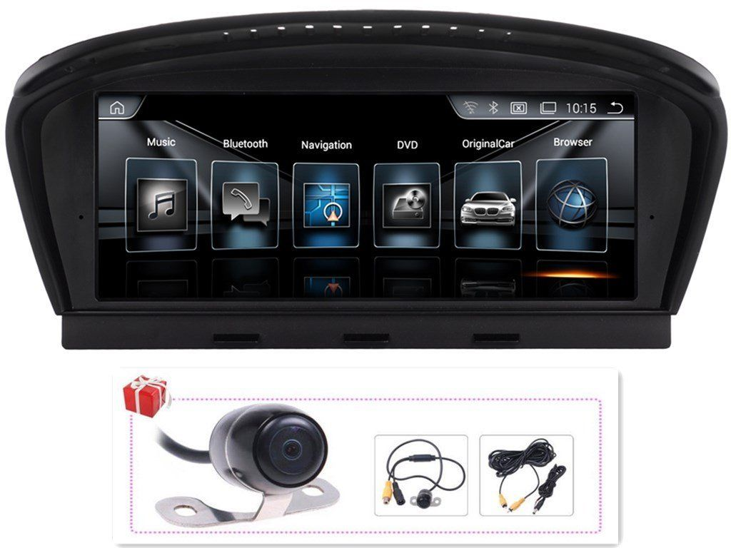 android upgrade for bmw 530i 535i 550i 545i 525i 2005 2008 e60 8 8 to german audio tech. Black Bedroom Furniture Sets. Home Design Ideas