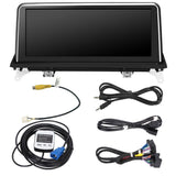 "Android Upgrade for BMW X5 E70 X6 E71 E72 2007-2014 10.25"" Android Stereo Touch Screen GPS Satnav Headunit"