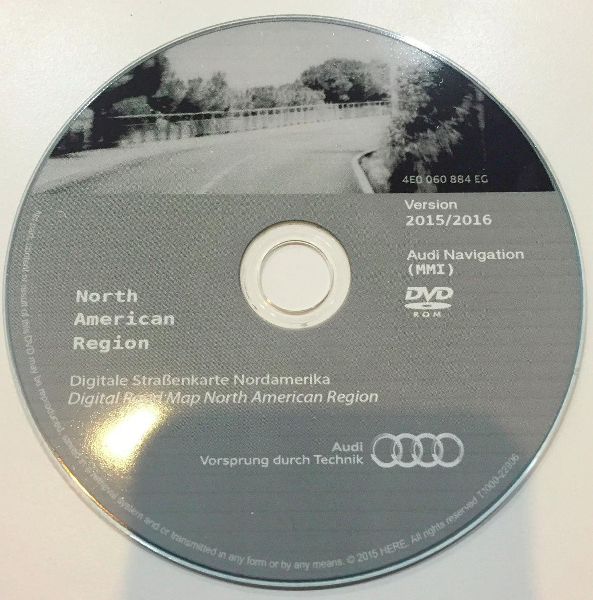 audi mmi 2g navigation system dvd navigation disc version. Black Bedroom Furniture Sets. Home Design Ideas