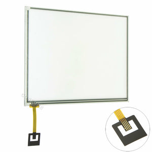 "8.4"" Replacement Touch-Screen Glass Digitizer for Chrysler Dodge 8.4"" RB5 RE2 Radio Pad 8"""
