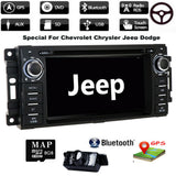 GPS Android Navigation Stereo Radio DVD Player For Dodge Chrysler Jeep 2007-2012