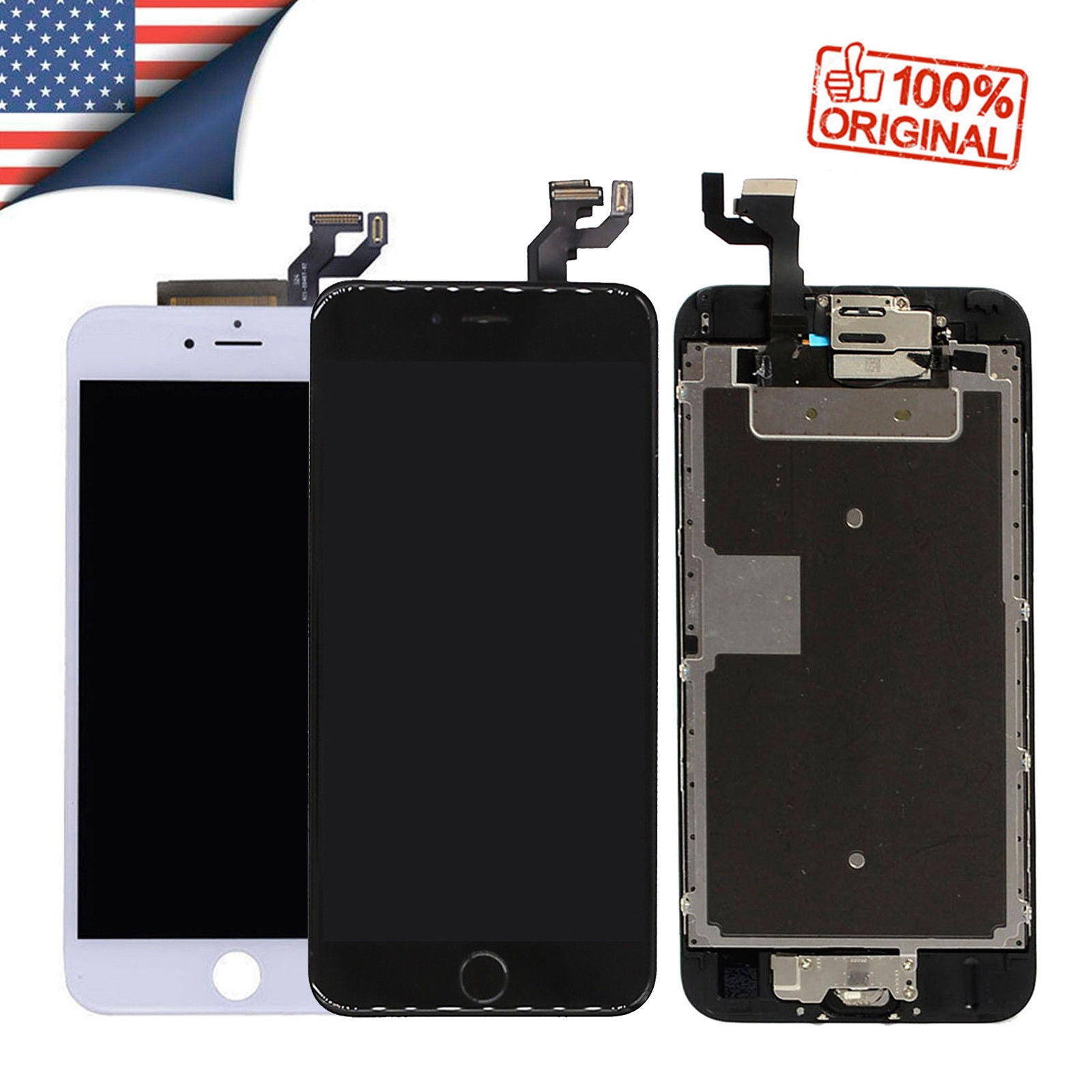 timeless design 189c5 ad09f OEM iPhone 5 6 6s Plus 7 8 Lcd Digitizer Complete Screen Replacement ...