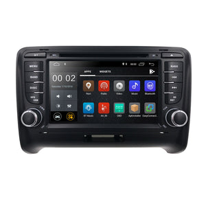 "GPS Navigation Radio for Audi TT 7"" Touch Screen Android 9.1 DVD CD Player Stereo"