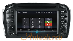 Android Upgrade for Mercedes Benz Navigation Radio R230 SL500 SL65 AMG 2001 2002 2003 2004 2005 2006 2007