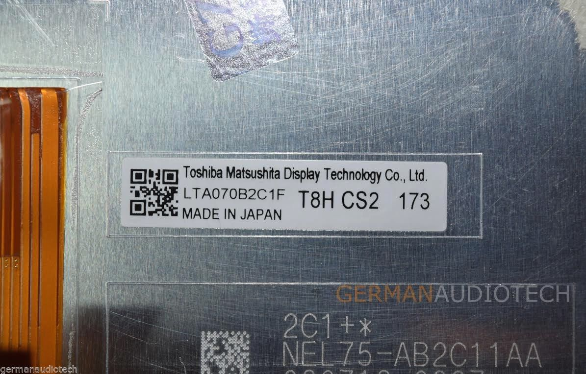 LCD DISPLAY+TOUCH SCREEN for LEXUS iS250 iS350 iSF