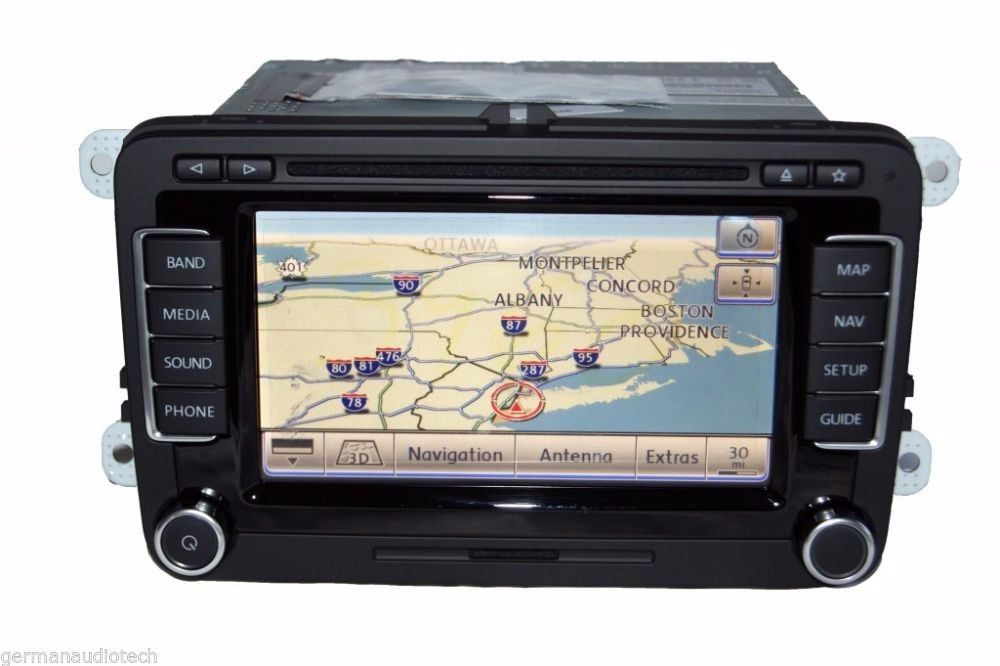New Glass Lcd   Touch Screen For Volkswagen Vw Rns