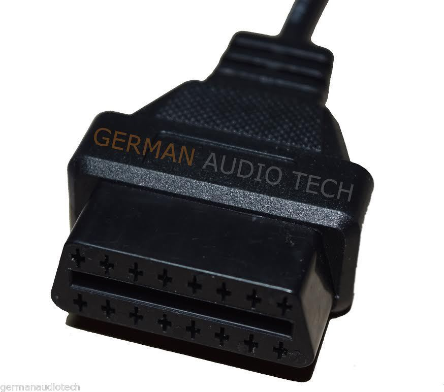BMW OBD2 ROUND DIAGNOSTIC SCANNER 20-PIN ADAPTER CABLE E36