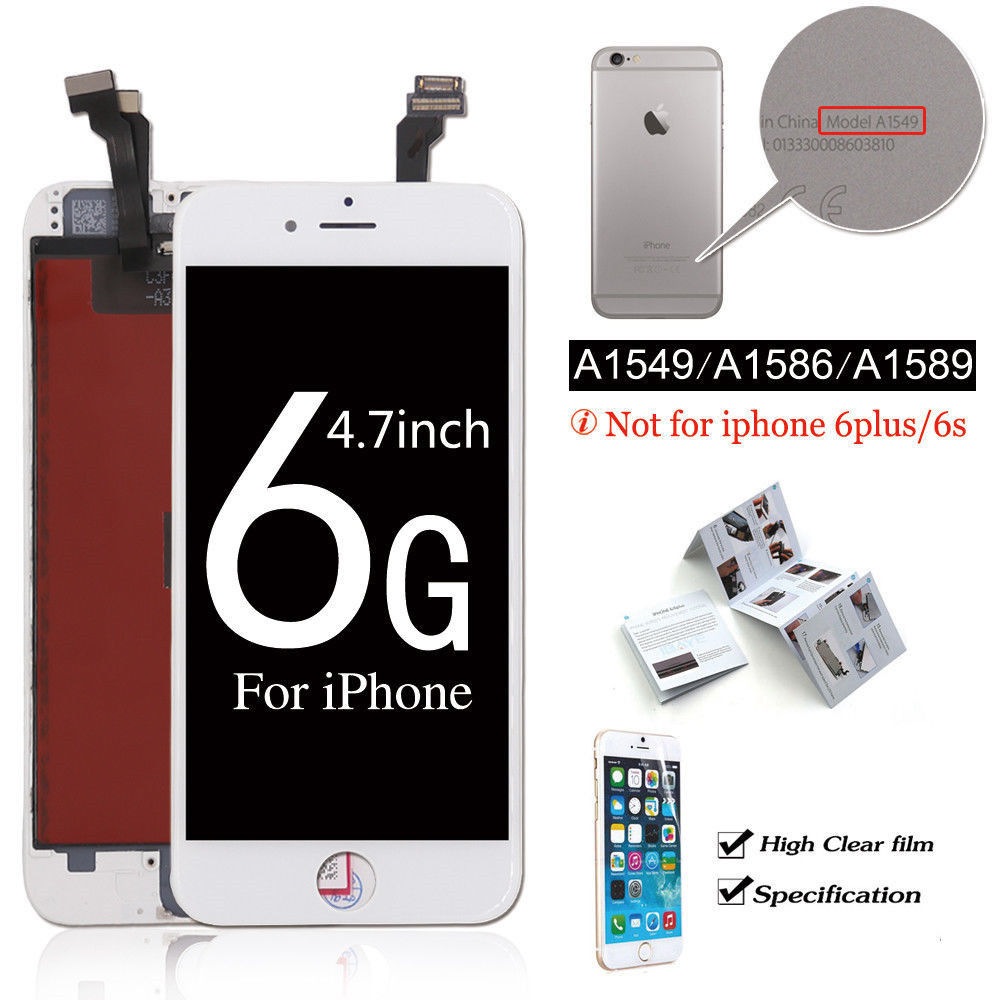 the latest 79461 19f85 OEM iPhone 5 6 6s Plus 7 8 Lcd Digitizer Complete Screen Replacement Camera  Home Button