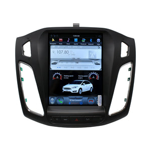 "10.4"" Multimedia Interface for Ford Focus 2012-2018 GPS Navigation Stereo Radio Tesla-Style"
