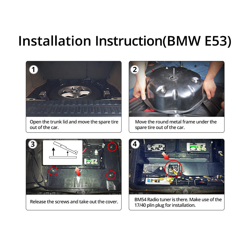 Superb A0582 Bmw E46 E39 E53 Extended Wiring Harness 17Pin 40Pin For Wiring Digital Resources Dylitashwinbiharinl