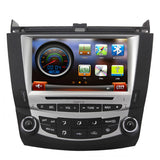 "Android Upgrade for 2003-2007 Honda Accord 8"" Autoradio GPS Touch Screen Navigation Radio DVD Stereo"