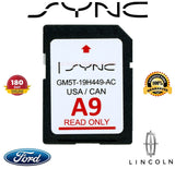 New A9 SD CARD UPDATE for FORD MAP CHIP NAVIGATION SYNC SYSTEM FORD LATEST A6 A7 SD CARD MAP GM5T-19H449-AA