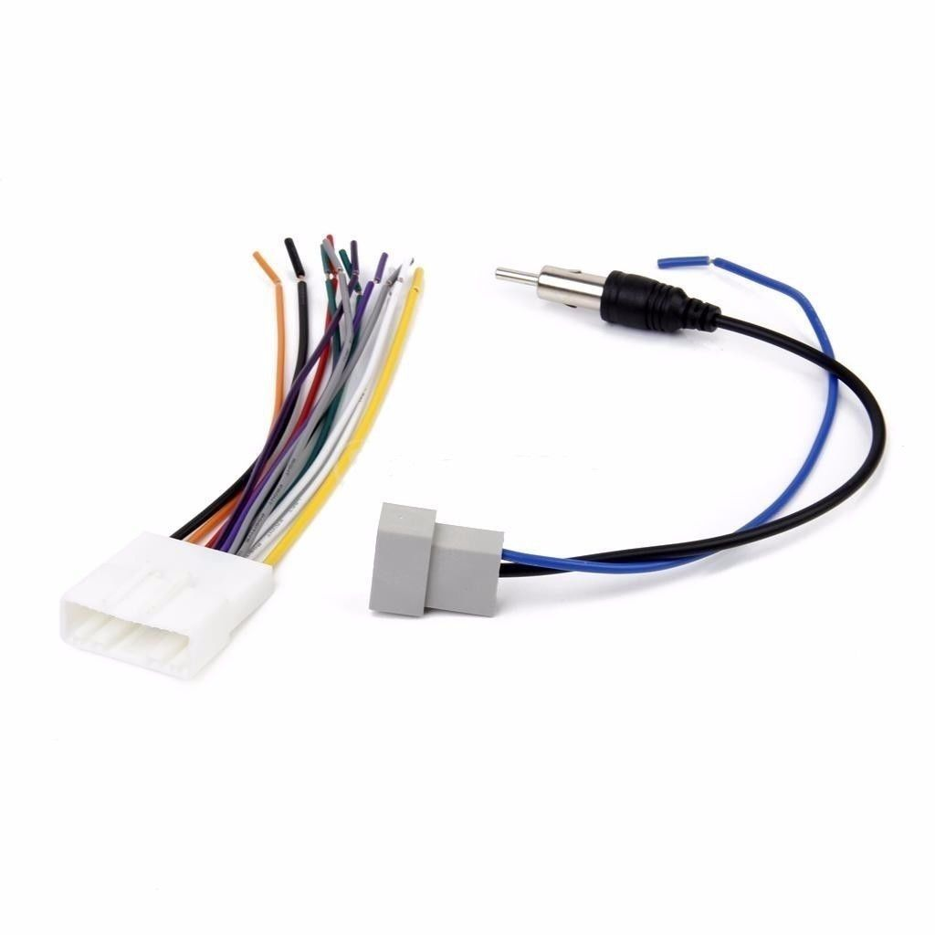 Car Radio Stereo Wiring Harness Antenna Adapter Combo For 2007 Adapters 2014 Nissan