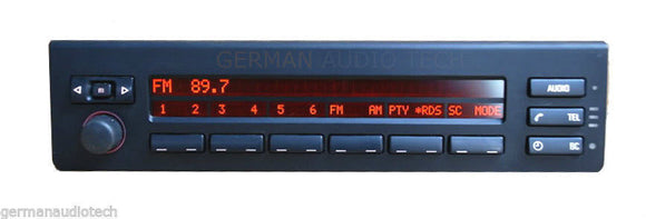 BMW E39 MULTI-INFORMATION INFO DISPLAY MID RADIO 2001 2002 2003 E39 525 530 540 M5 65826914590