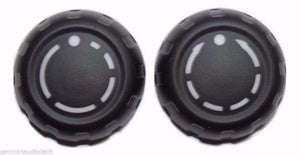 Set (2qty) Genuine PORSCHE 997 911 PCM RADIO NAVIGATION VOLUME KNOB BUTTONS