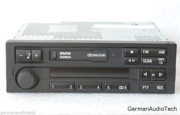 BMW BUSINESS C43 RDS RADIO STEREO CASSETTE E36 318 323 328 M3 Z3 C33 65128375949